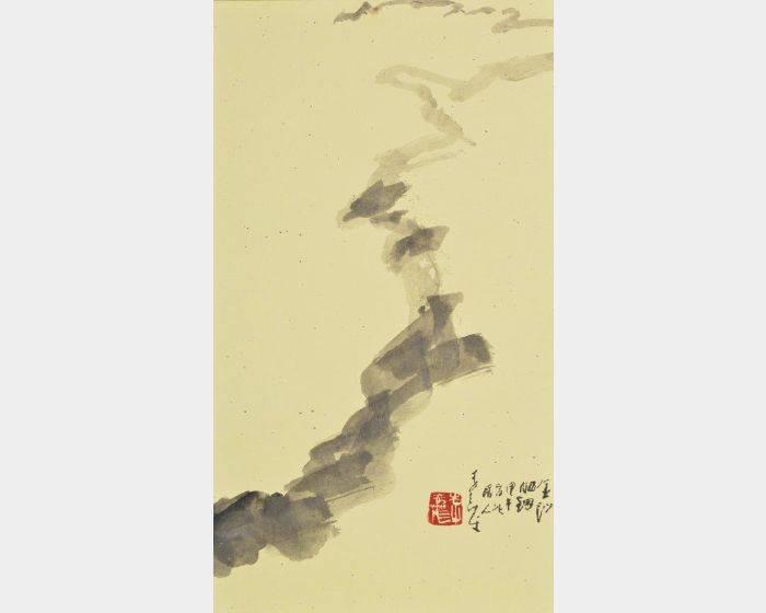 李奇茂-曬網