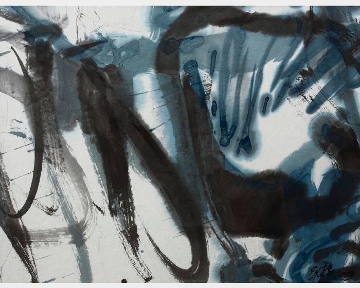 楊世芝-漸轉藍 Gradully Turn Blue