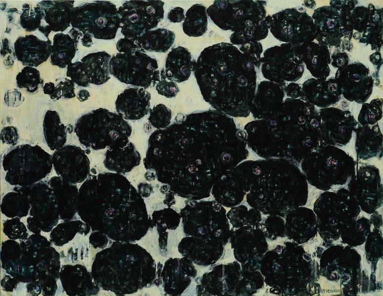 顏貽成-微風花草-1512