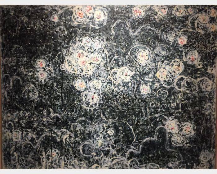 顏貽成-微風花草-1622