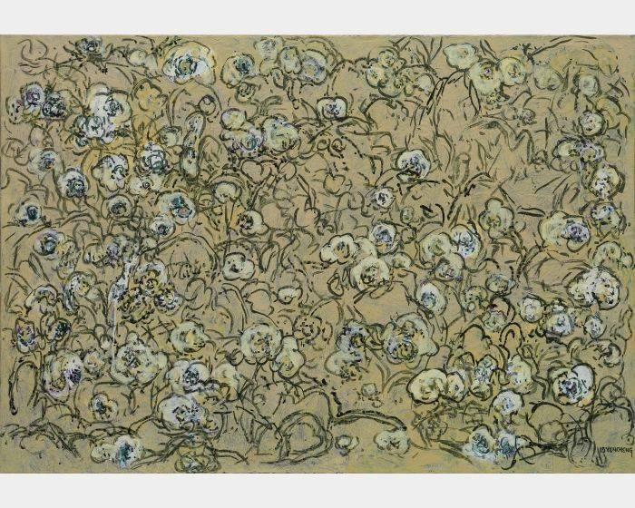 顏貽成-微風花草-1524