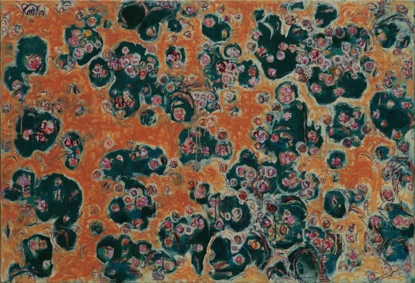 顏貽成-微風花草-1410