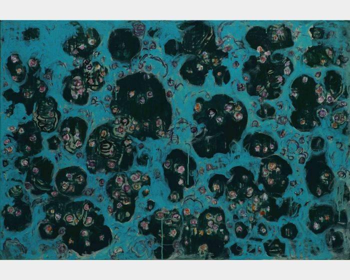 顏貽成-微風花草-1411