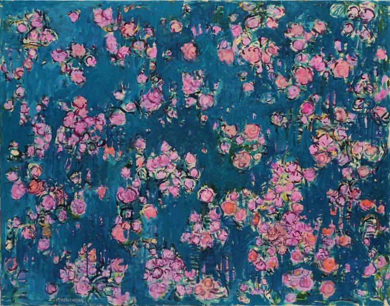 顏貽成-微風花草-1503