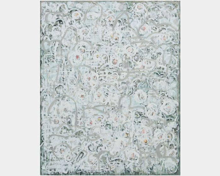 顏貽成-微風花草-1652