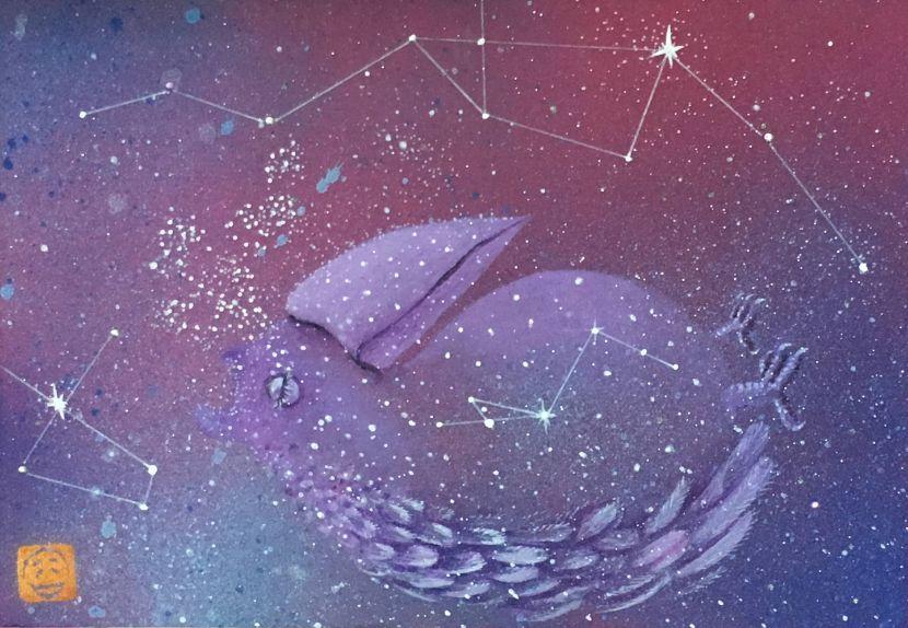 吳佳容-銀河裡的輕旅行-泡影系列1