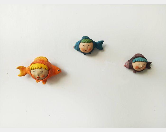 郭舒凡-在魚塘系列