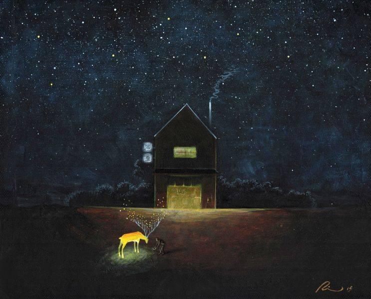 海至,《光鹿的深夜食堂》。
