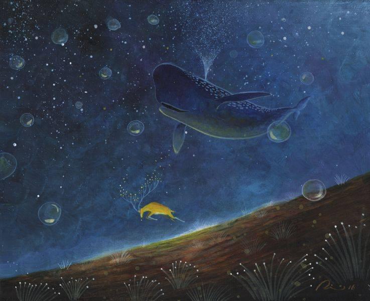 海至-光鹿與飛行鯨魚