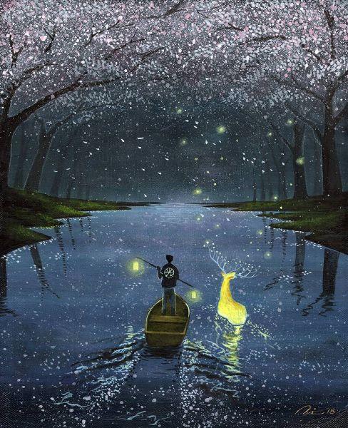海至-漫遊夜櫻