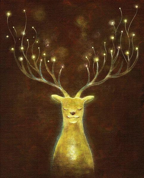 海至-微笑光鹿
