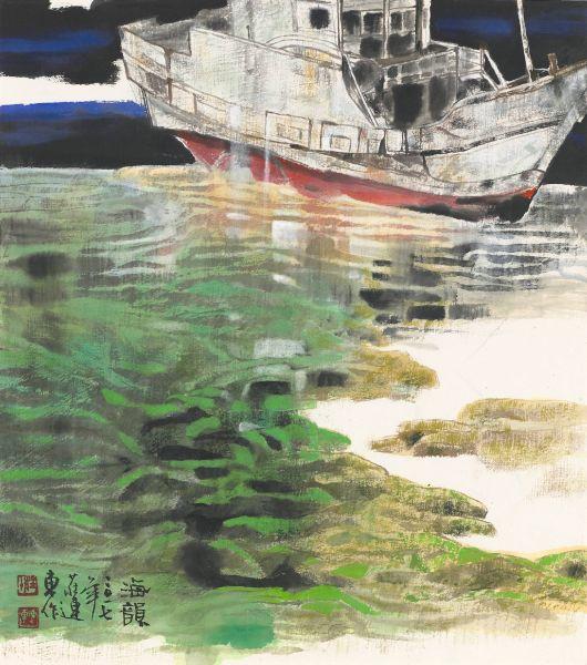 莊連東-漁港寄情–海韻