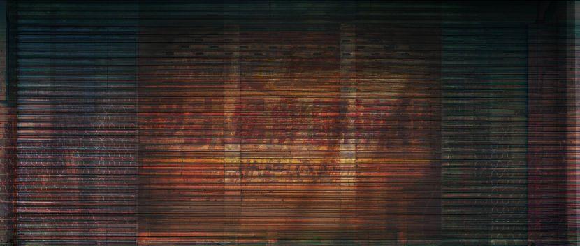 余梓勤-鐵門01 Overhead door 01