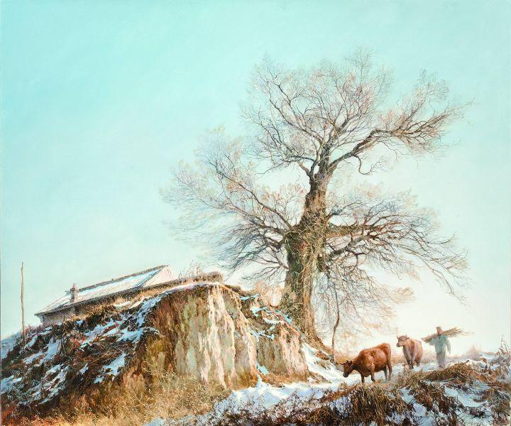 林建-金冬雪霽