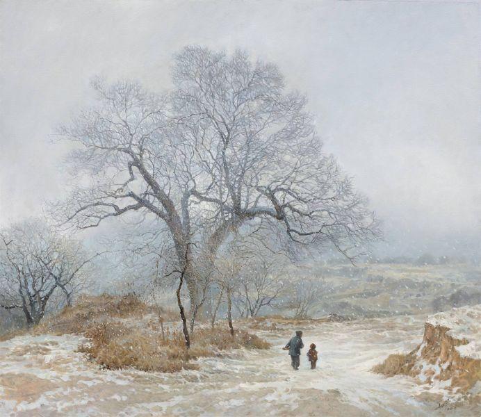 林建-清冬小雪