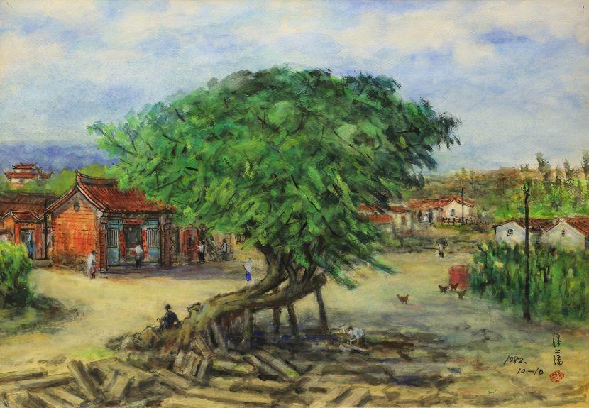 李澤藩-四美堂前土地廟 Hsinchu