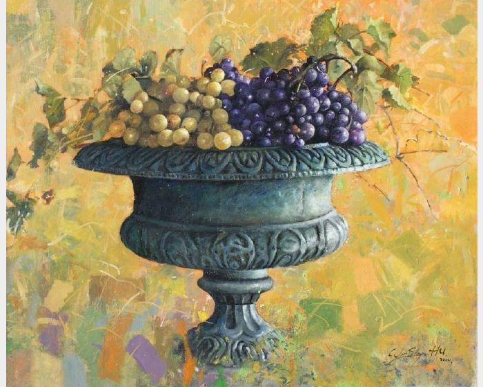 胡文賢-葡萄 Grape