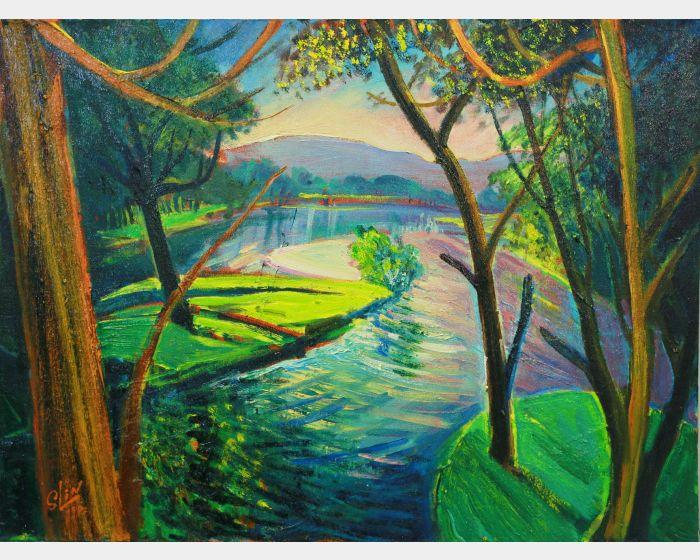 林顯模-一池春水 The Pond