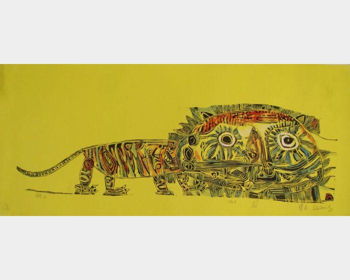 江漢東-獅子 Lion
