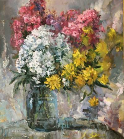 Pavel Veselkin-Autumn flowers