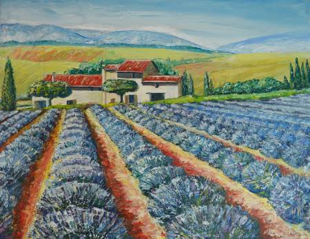 Marta Shein-The scent of Provence