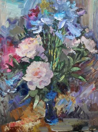 Pavel Veselkin-Summer bouquet