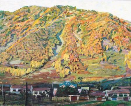 李全淼-山下的村莊