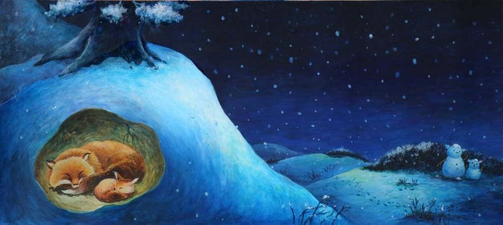 劉詩萍 - 雪夜裡的搖籃曲