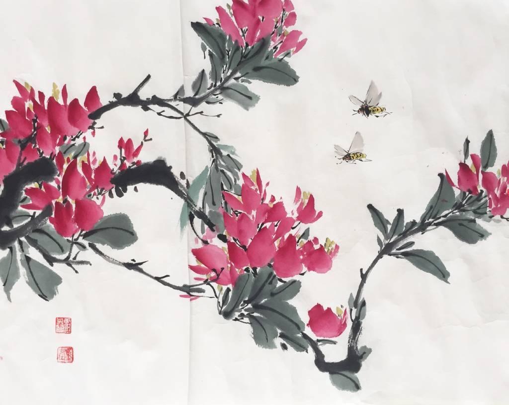 田官喜 - 紅色九重葛