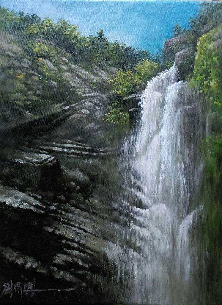劉得興 - 瀑布