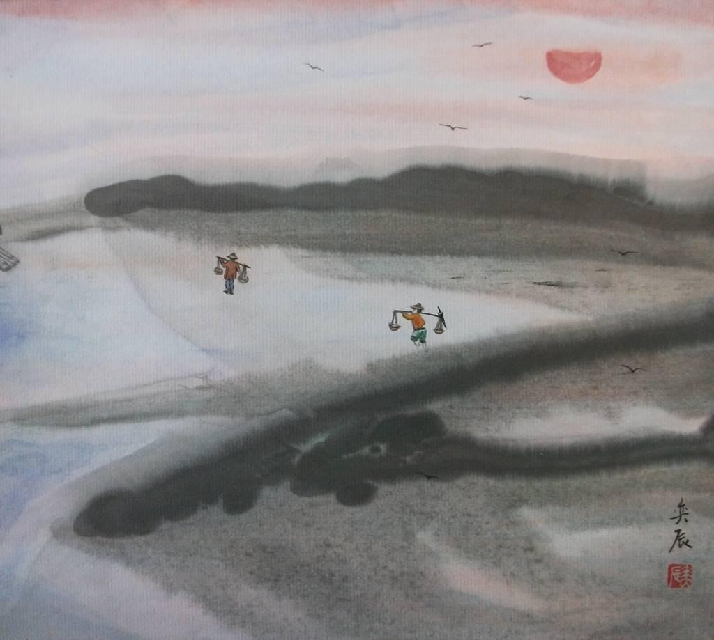 魏奕辰(瑞宗) - 黃昏漁家