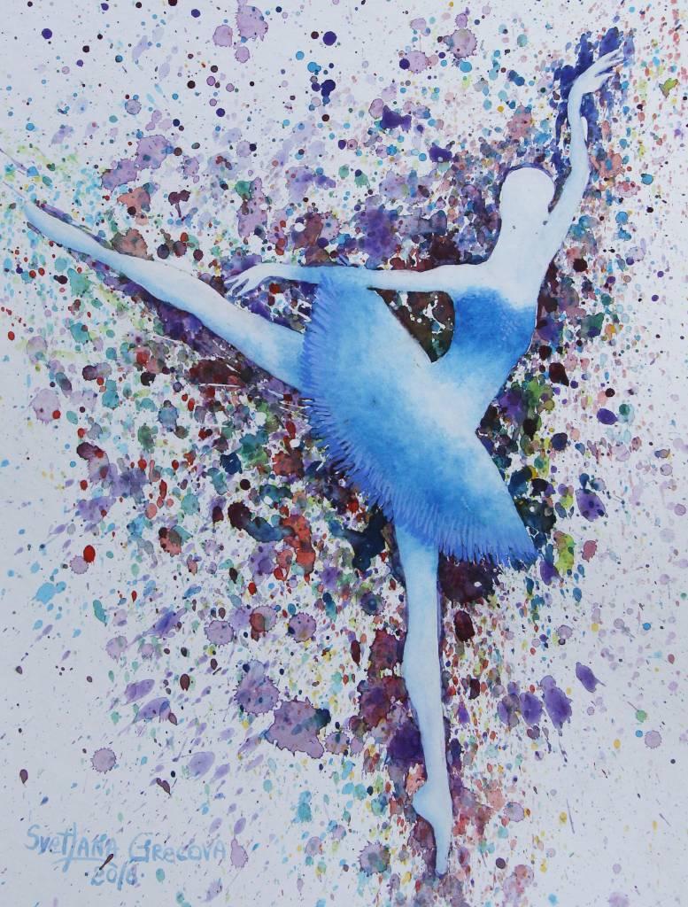 葛拉娜 - Blue ballerina