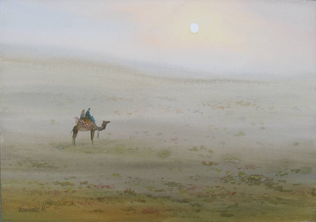 Ulugbek Muhamedov - morning in the desert