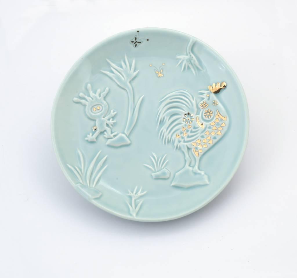 葉怡利 - 蠕人金雞報喜盤(新春版)
