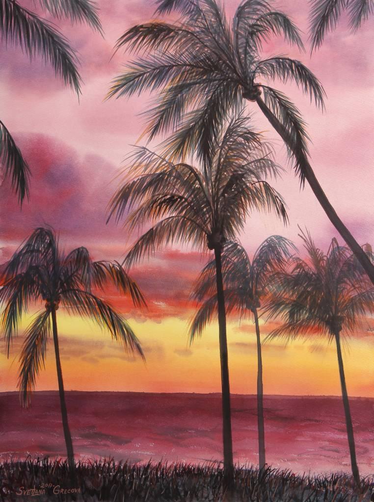 葛拉娜 - sunset in Kending