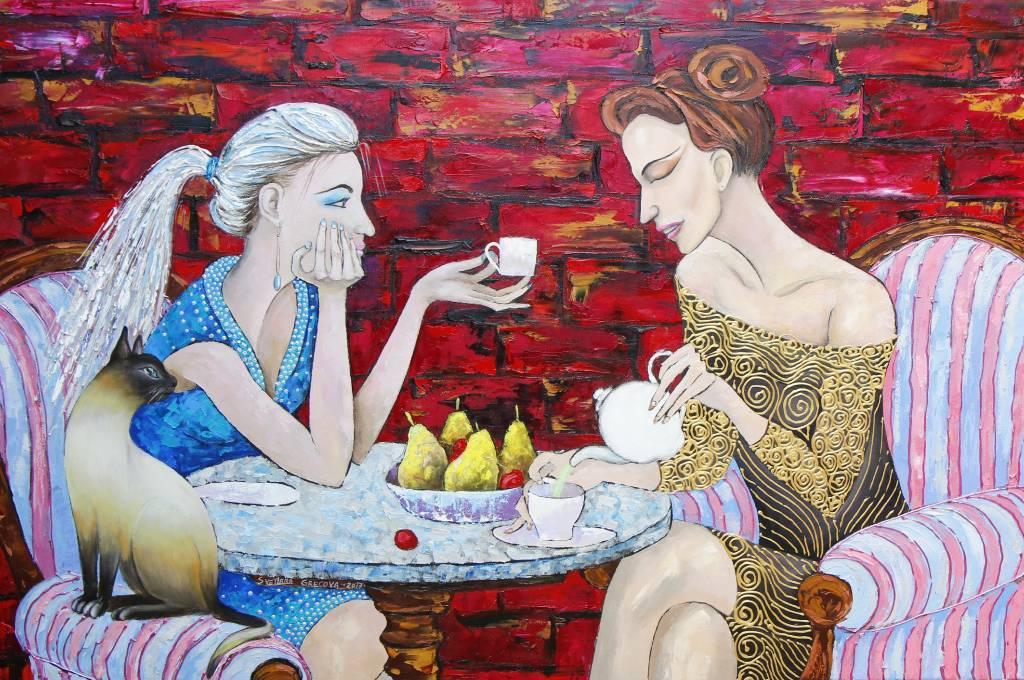 葛拉娜 - I love coffee, I love tea