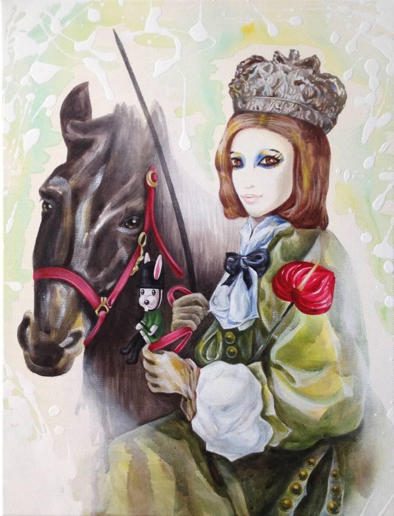 平仙妮 - 偽裝裡的尋找- 克莉絲汀娜女王