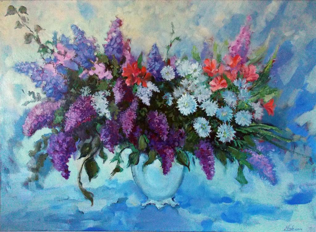 Natalia Nysh - April Flowers