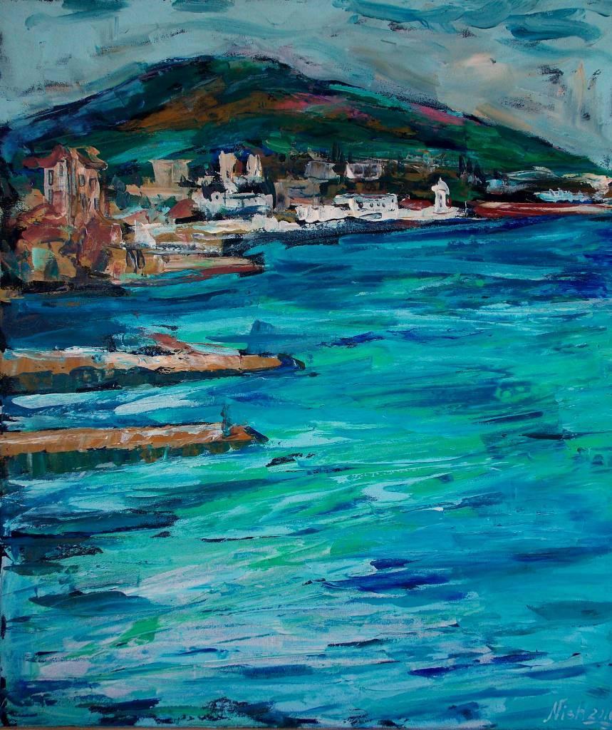 Natalia Nysh - Blue Lagune Yalta Crimea