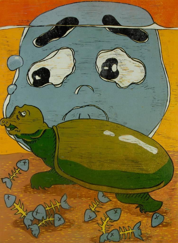 林威柔 - 嗜血鱉與膽小達