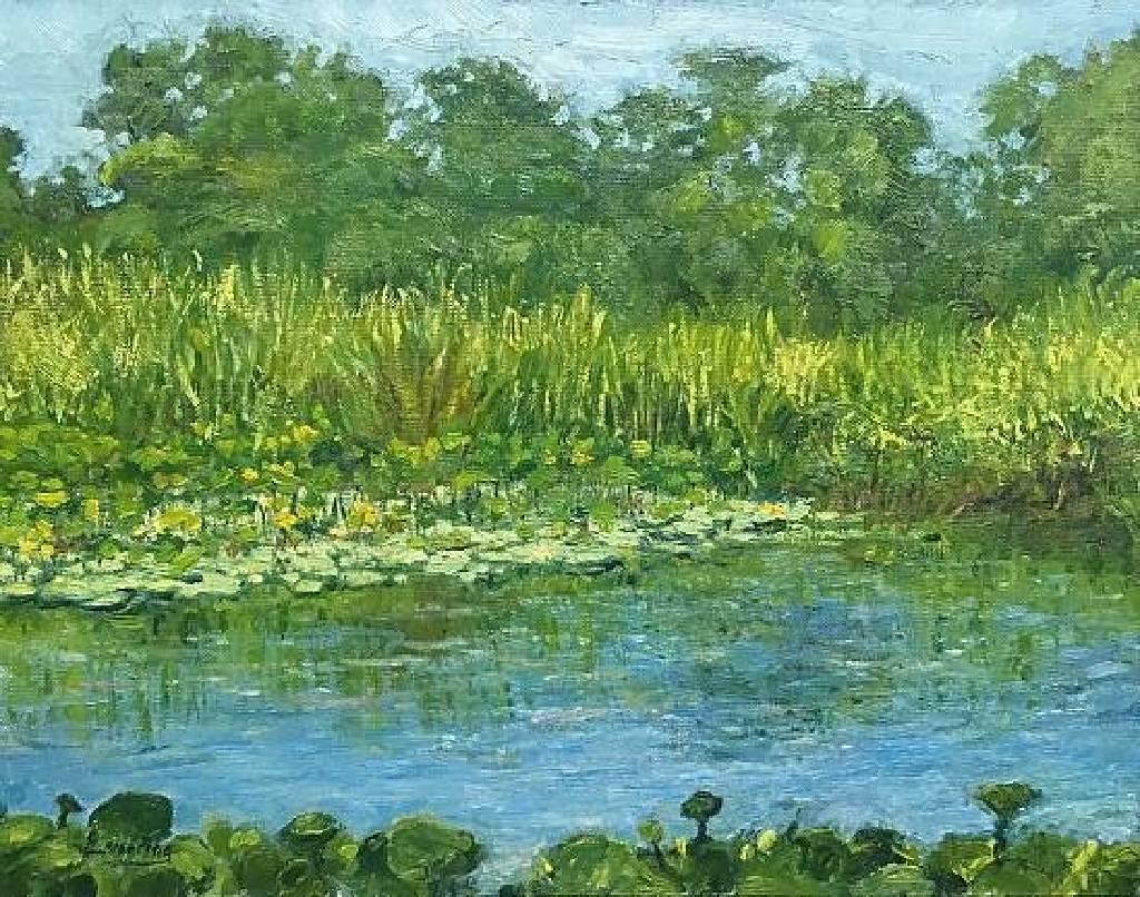 洪傑生 - 靜池 Calm Pond