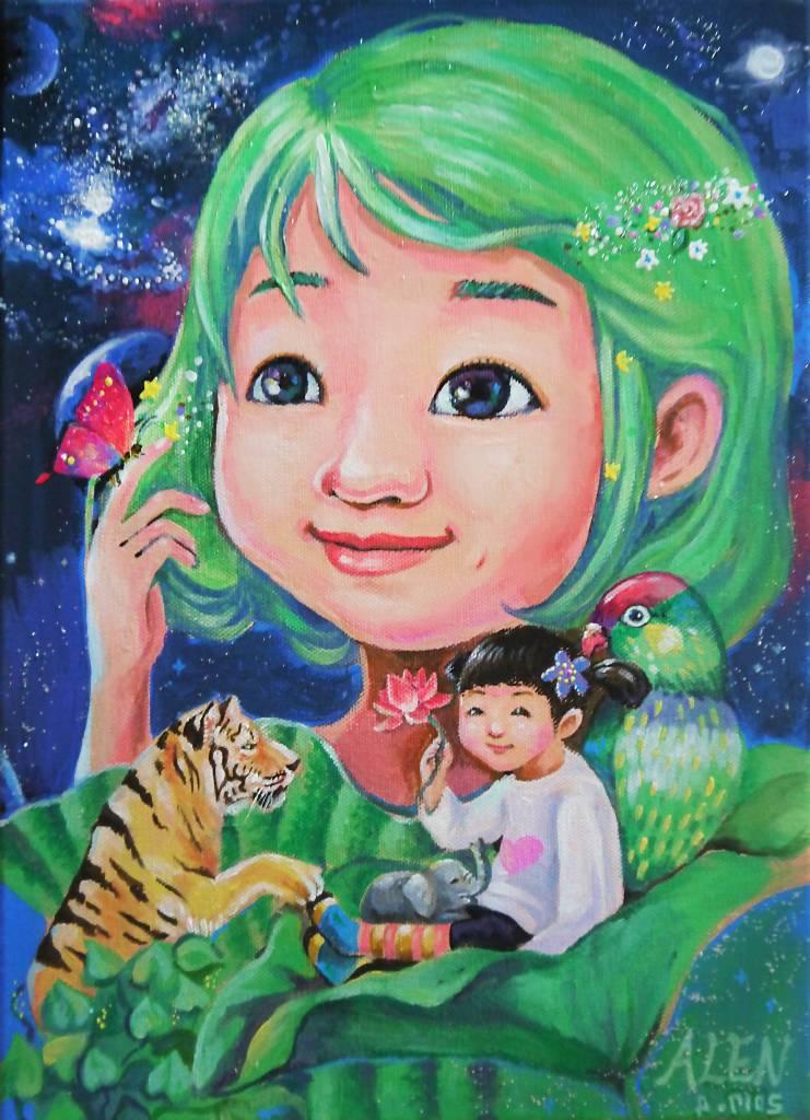 鄭雅蓮 - 宇宙的母親