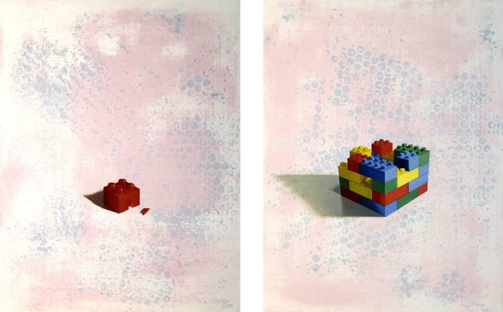 張凱翔 - 朦朧的童年時光(一組兩張)
