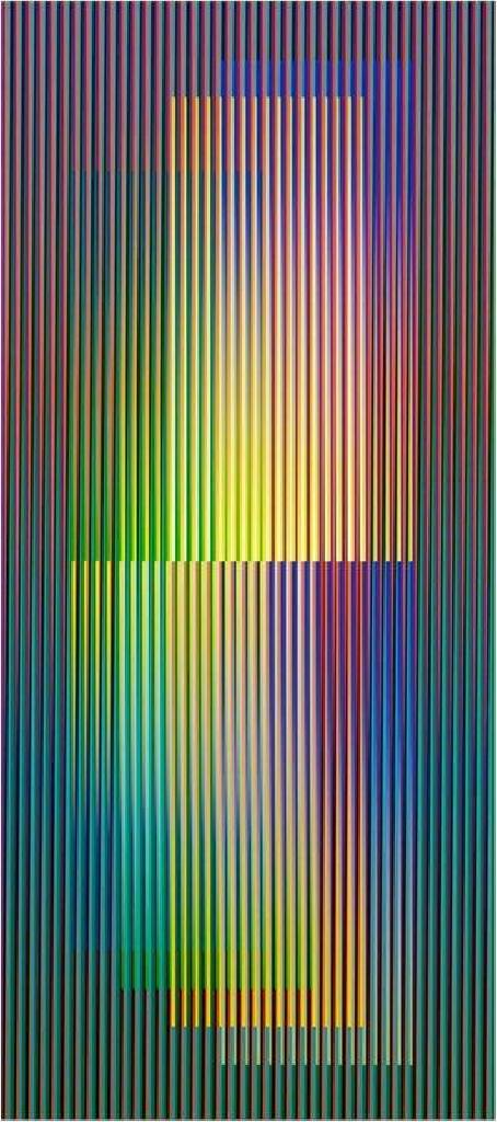 Carlos Cruz-Diez - Couleur Additive Denise A