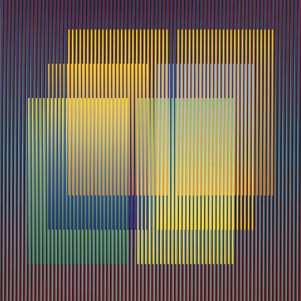 Carlos Cruz-Diez - Color Aditivo Série Caracas D1