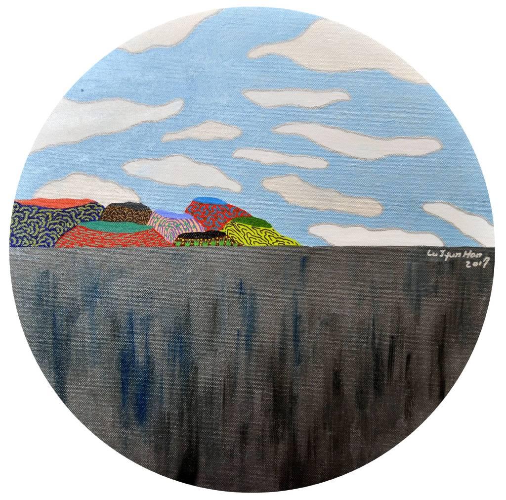 盧俊翰 - 牆後山景