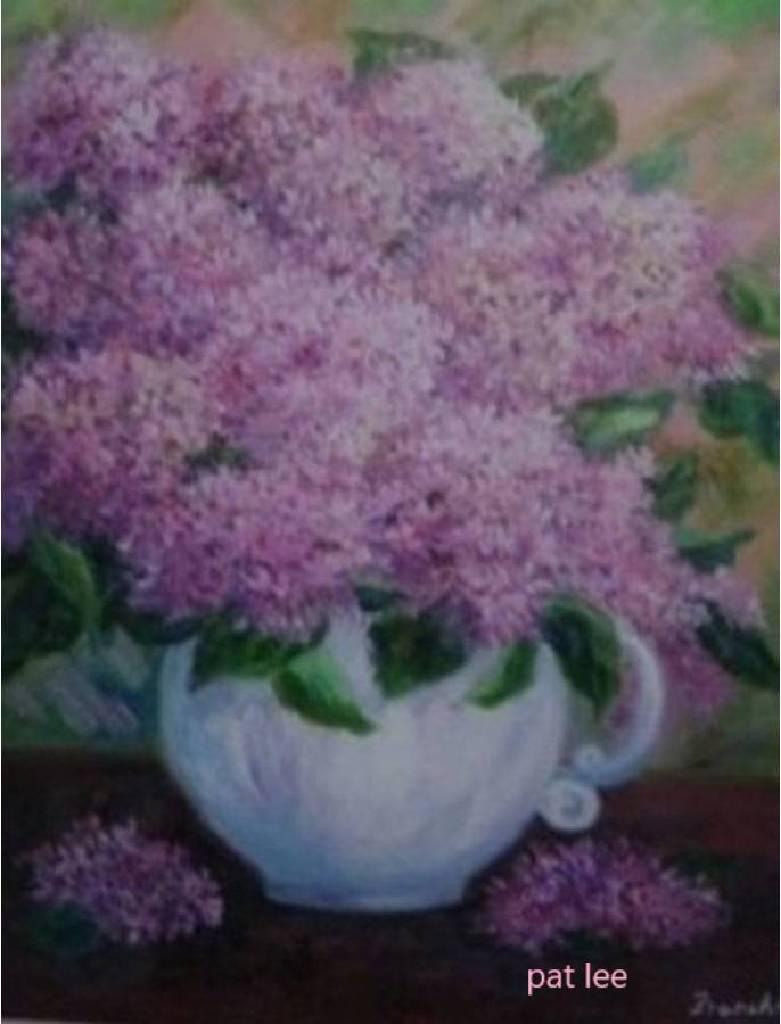 李芳時 - 紫色花