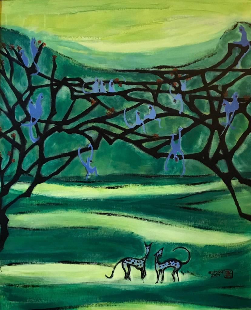 秀子 - 林中猴群