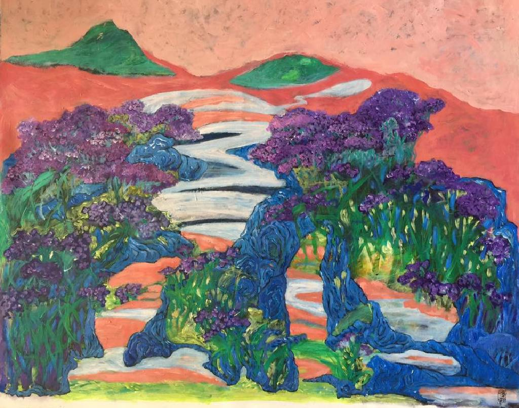 秀子 - 盛開的紫花