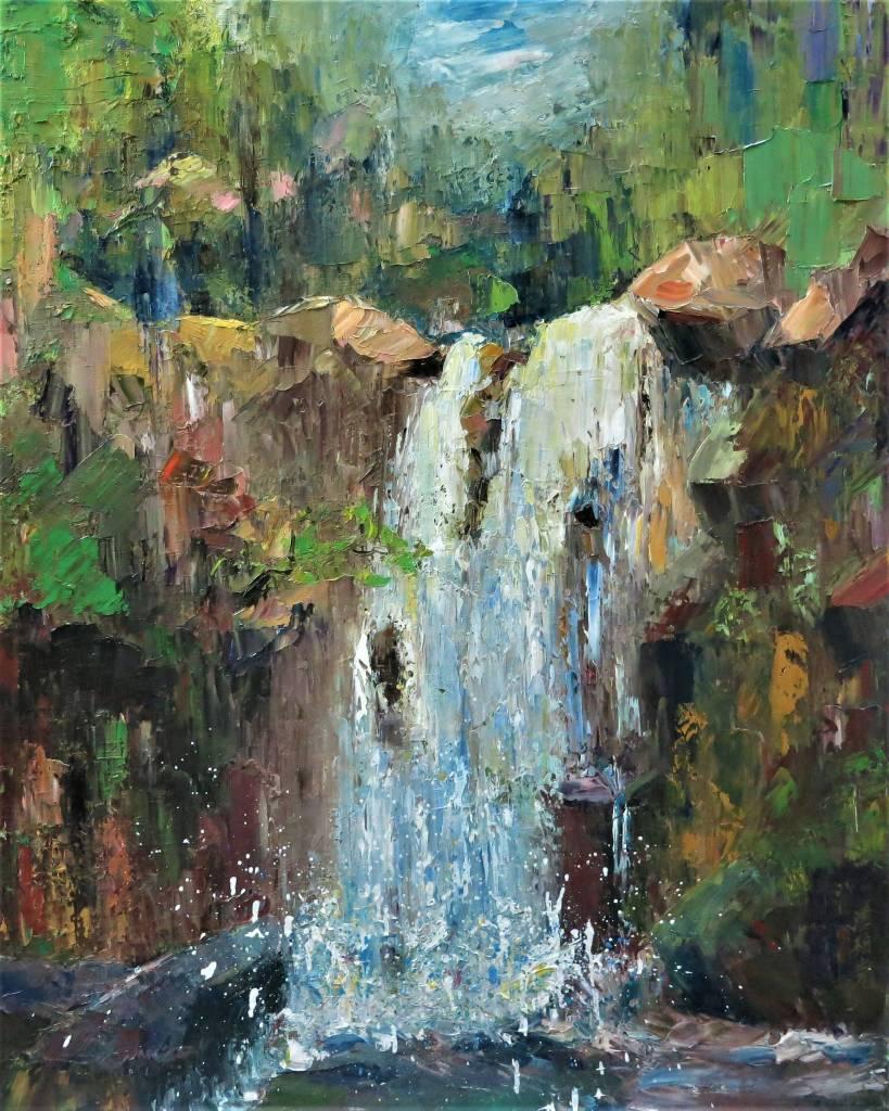 潘柏克(柏克創藝) - 奇巖飛瀑 Peculiar Cliff and Waterfall